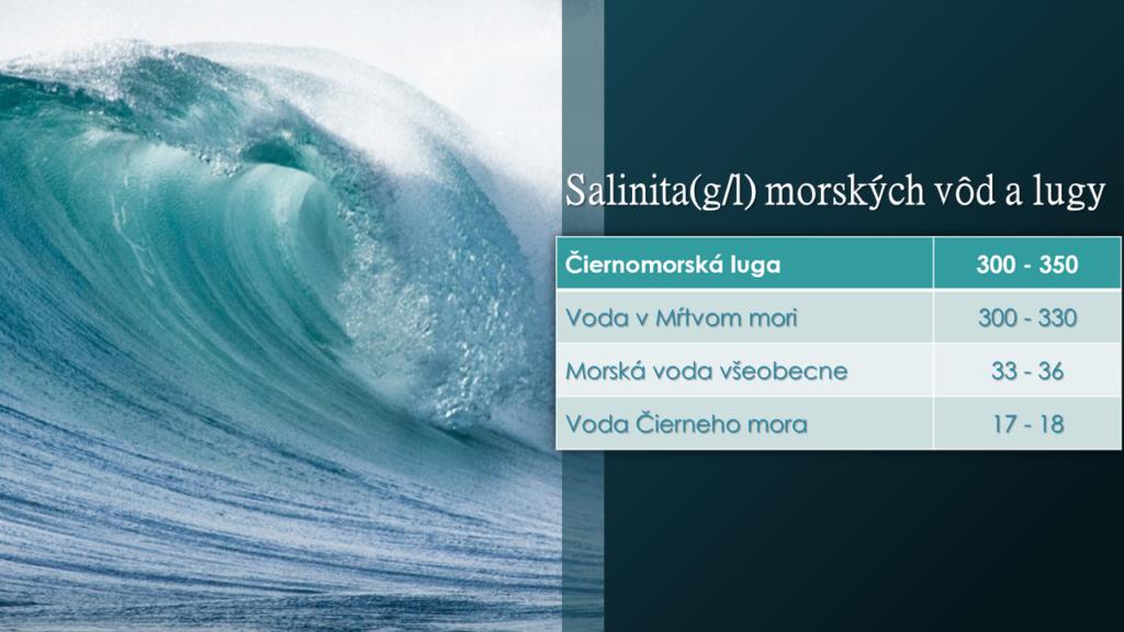 Salinita morskej soli